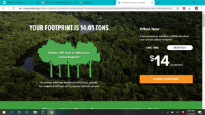 Conservation Carbon Footprint Calculator