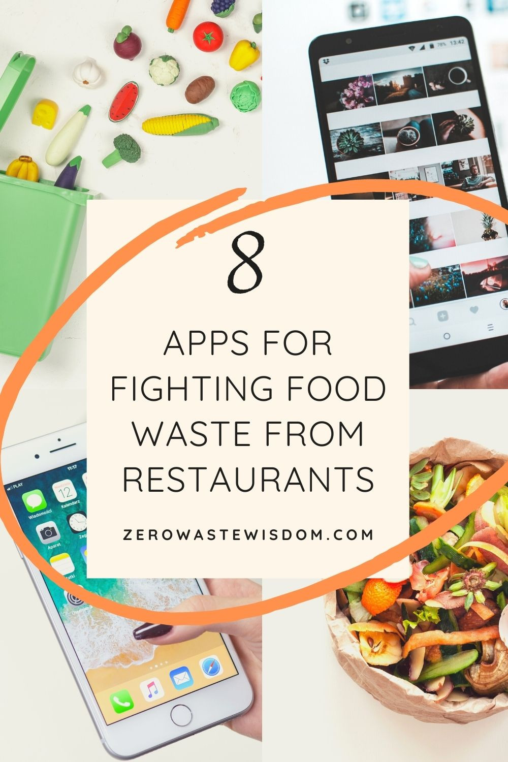 Apps for fighting food waste from restaurants Pinterest Pins
