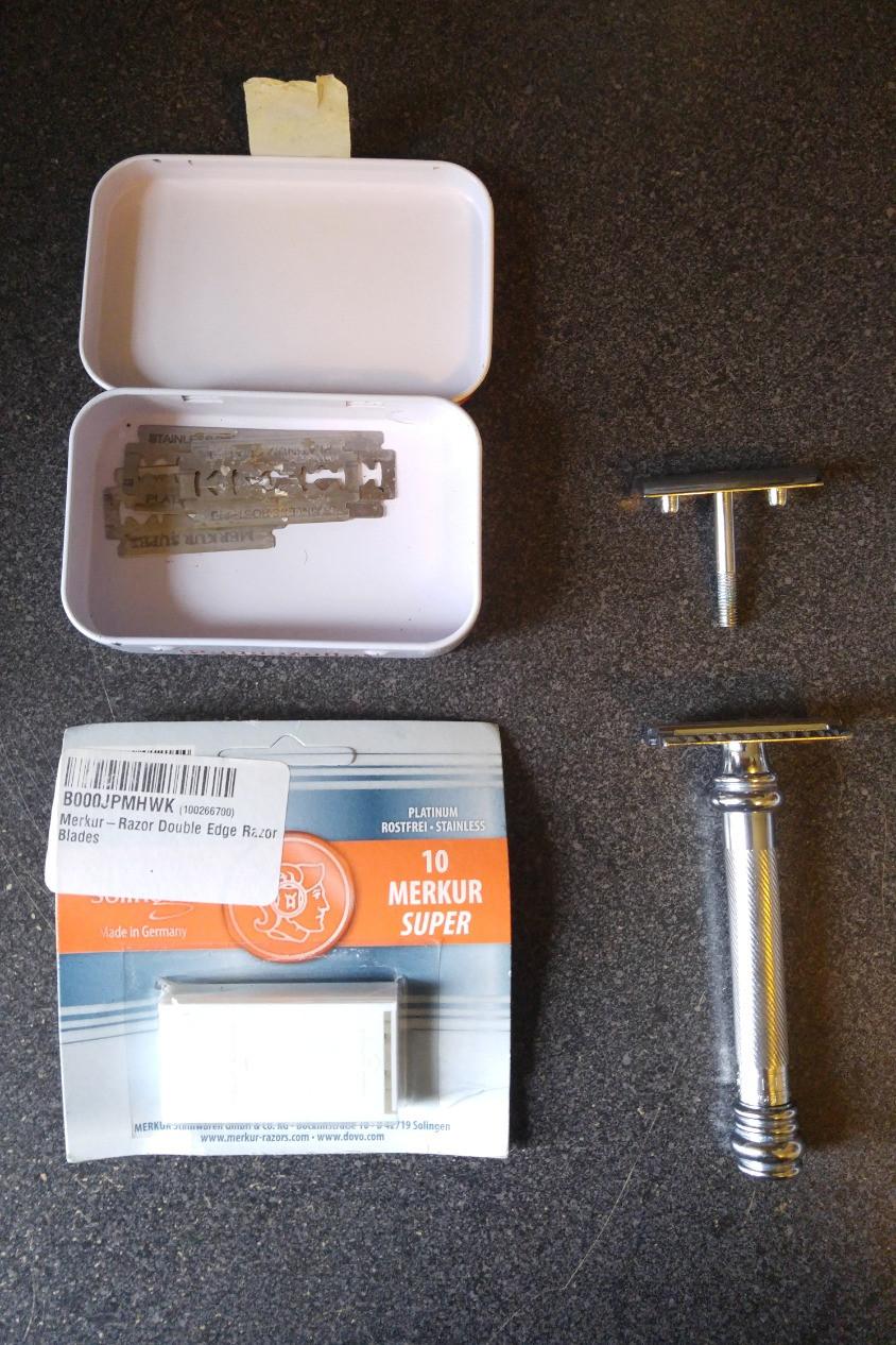 safety razor parts