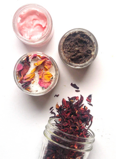 DIY Rose Orange Bath Salts