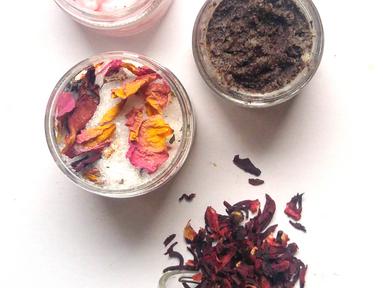 DIY Rose Orange Bath Salts