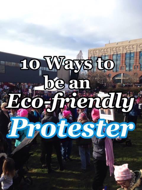 Eco-Friendly Protester