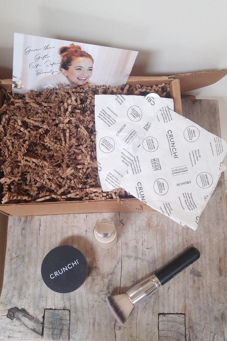 Crunchi Cosmetics Packaging