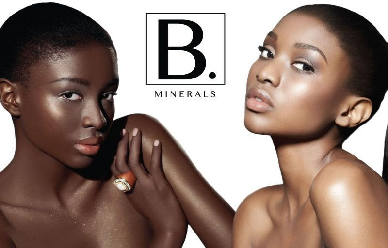 two black women modeling Blac minerals cosmetics