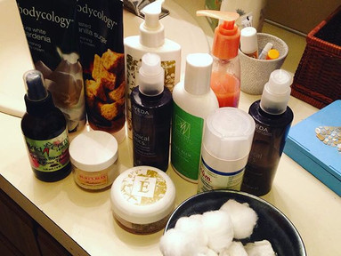 Facial Cleaning Routine