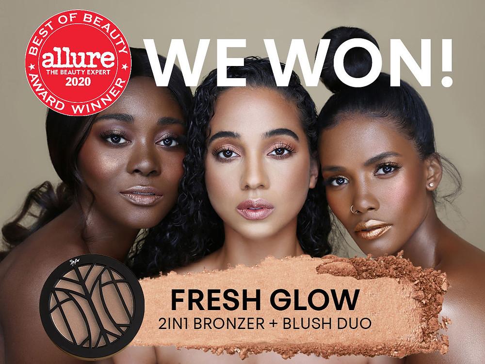 three women modeling The Lip Bar makeup