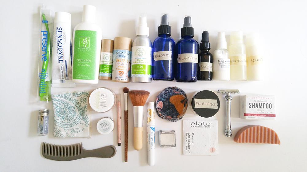 zero waste cosmetics display