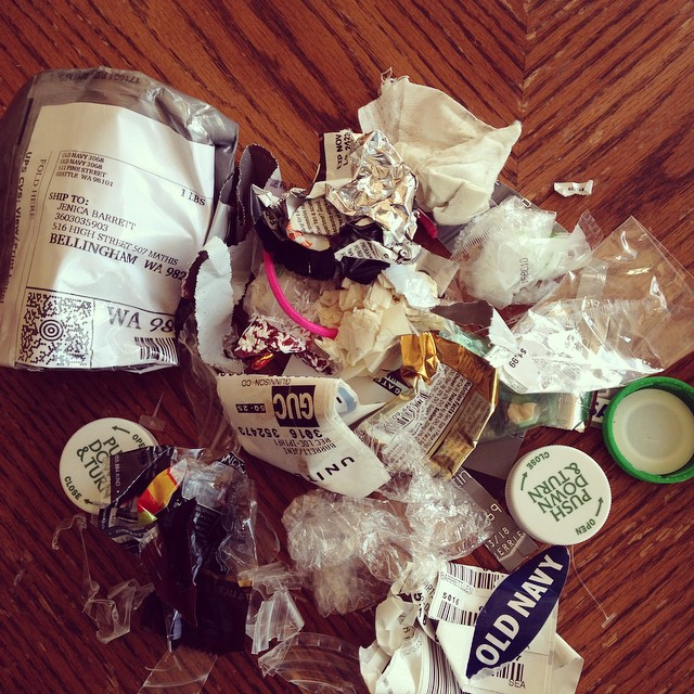 Trash Jar March 2015