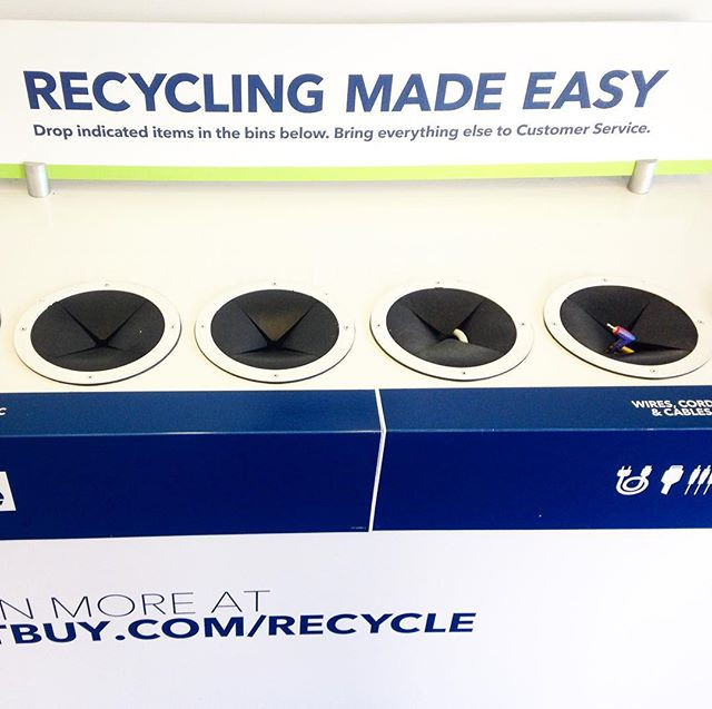 Recycling Made Easy electronics sorter