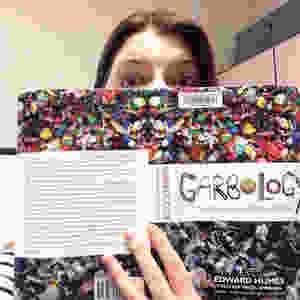 jenica reading garbology book