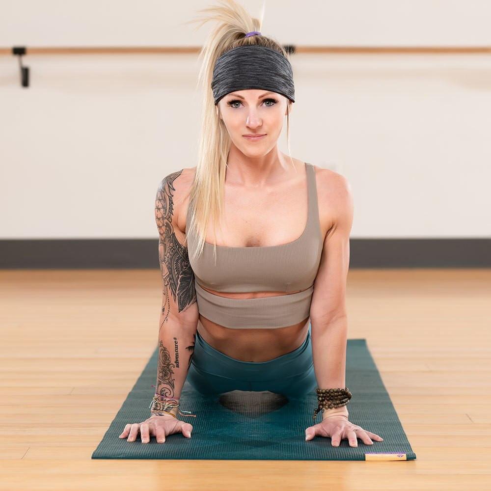 Hugger Mugger rubber yoga mat