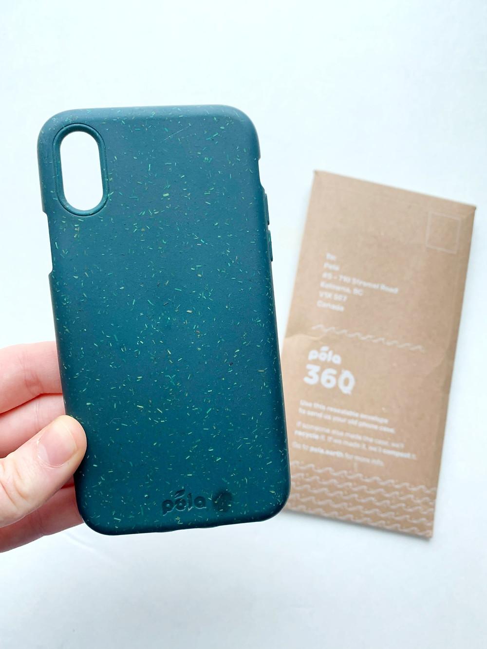 Pela Case 100% compostable phone case