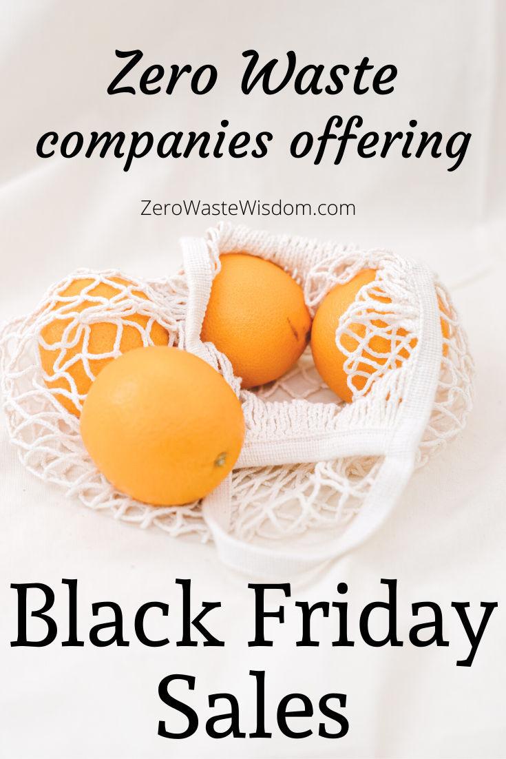 zero waste companies offering Black Friday sales
