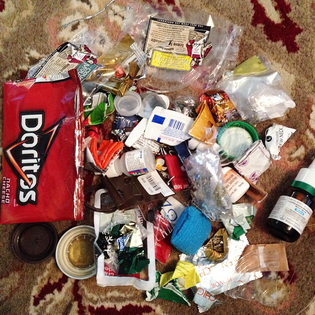 Trash Jar January 2015