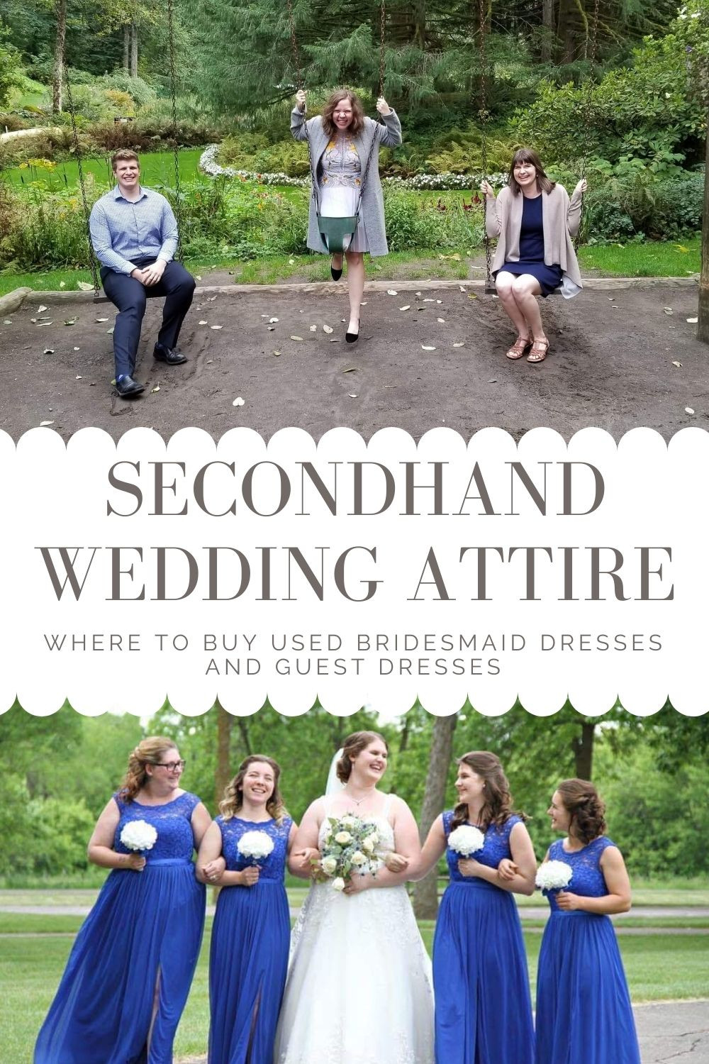 Secondhand Wedding Attire Where to Buy Dresses Pinterest Pin