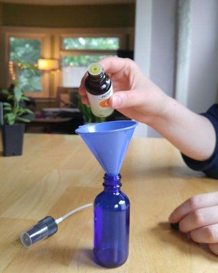 orange essential oil for DIY bug spray