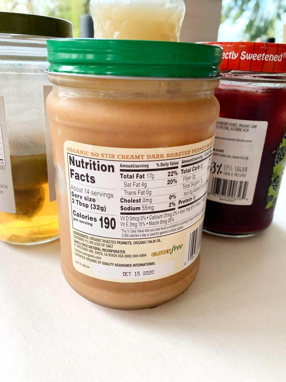 peanut butter expiration date