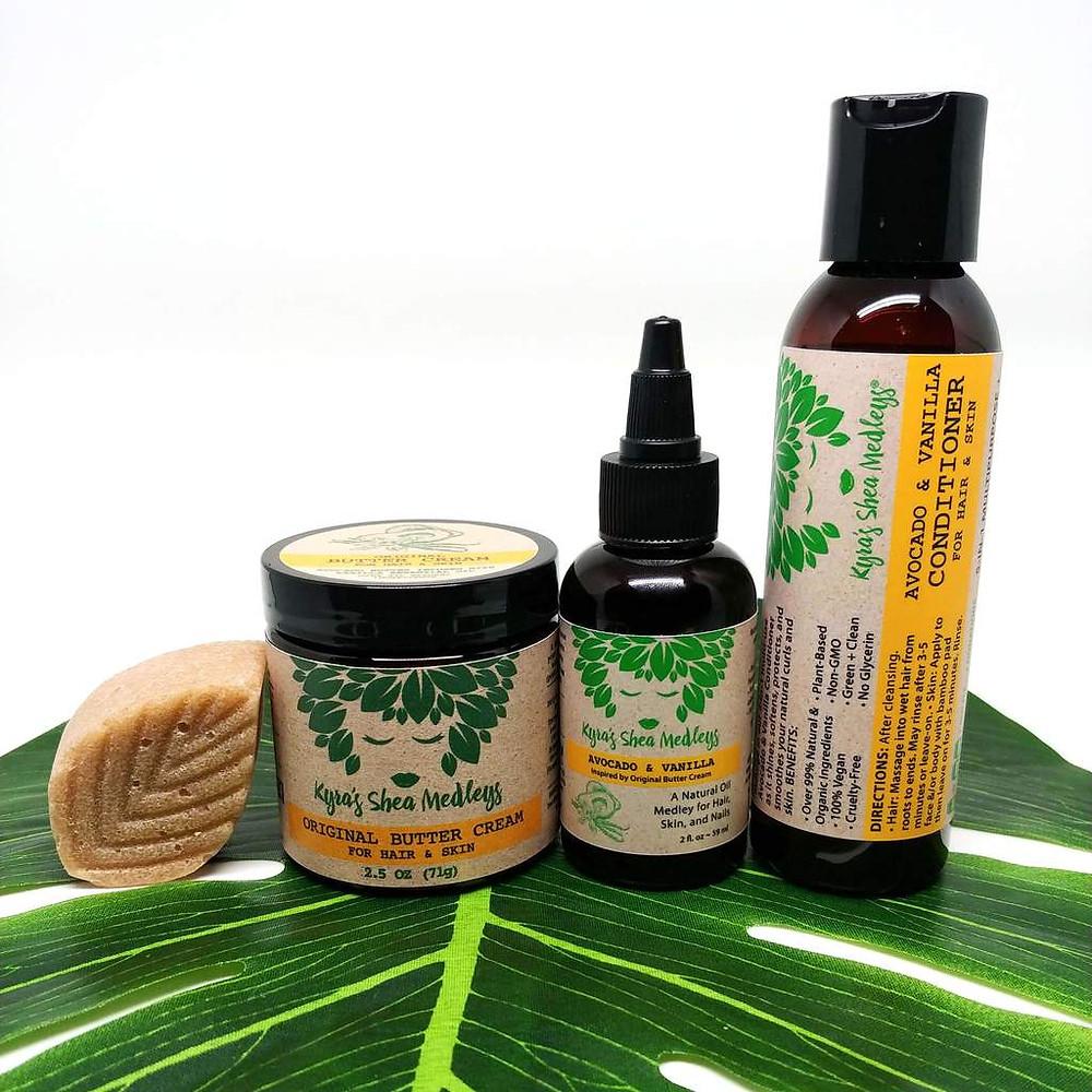 Kyra's Shea Medley products