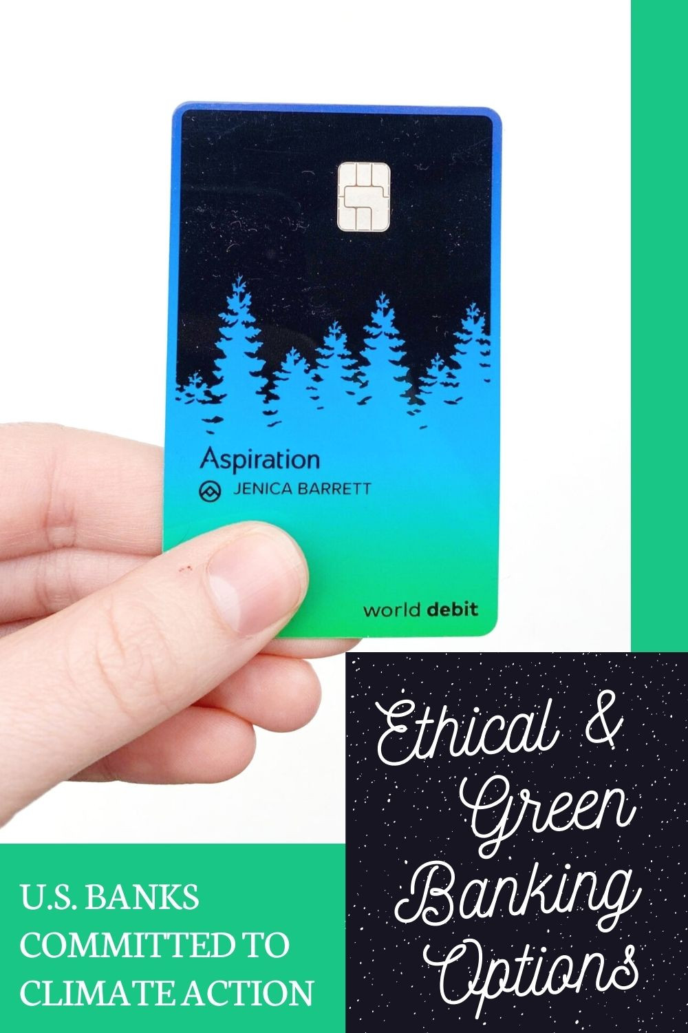 ethical and green banking options pinterest pin
