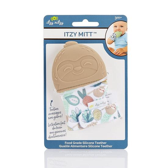 Itzy Ritzy Itzy Mitt Teether - Sloth