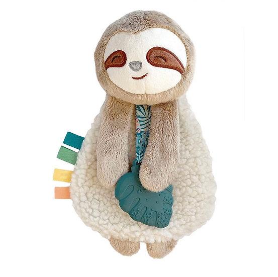 Itzy Ritzy Itzy Lovey Plush & Teether Toy-Sloth
