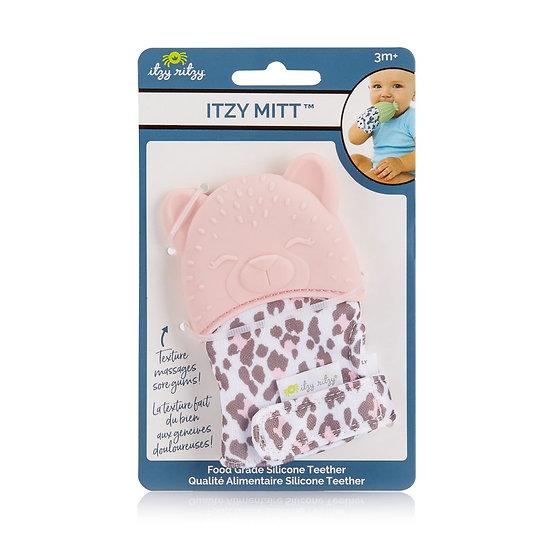 Itzy Ritzy Itzy Mitt Teether - Leopard