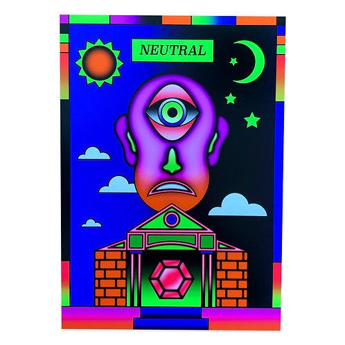 Neutral A3 Giclee (RGB) print