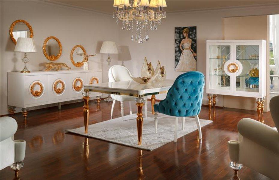 Cristal Luxury Yemek Odası Takımı 2