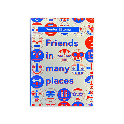 Friends in Many Places - Comic Book