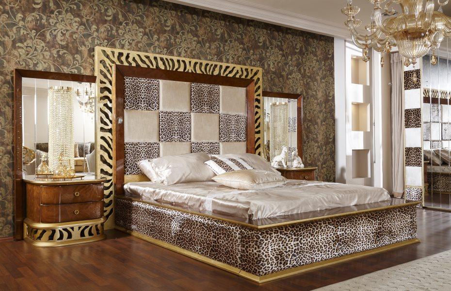 Leopar Avangart Yatak Odası Takımı 2