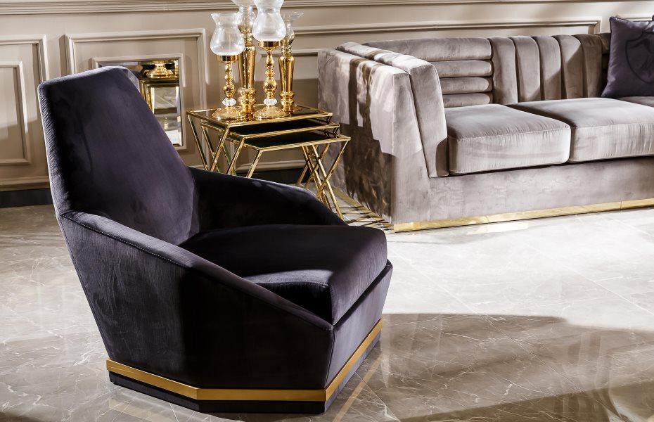 Tiffany Luxury Koltuk Takımı 3