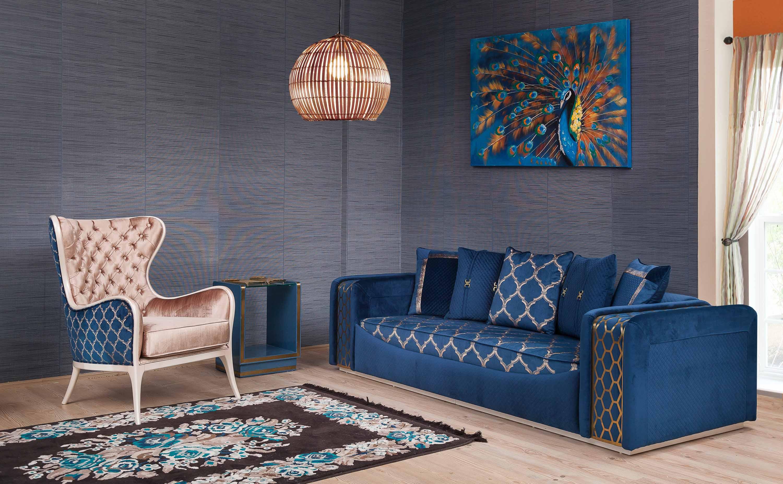 Luxury Armani Koltuk Takımı 12