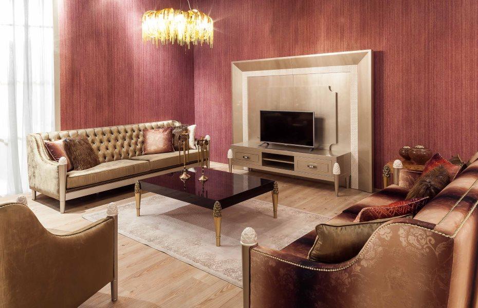 Mina Ricci Luxury Koltuk Takımı 9