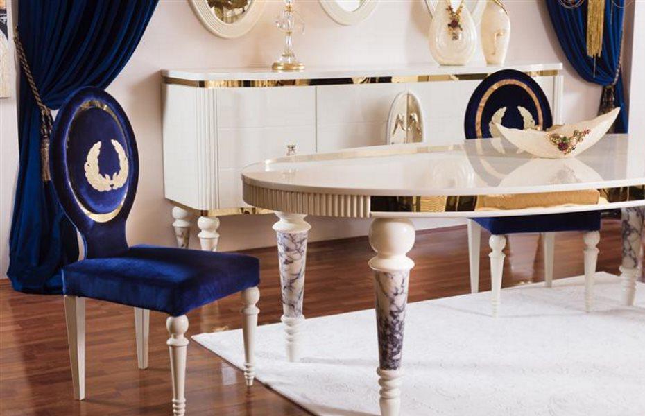 Noble Luxury Yemek Odası Takımı 5