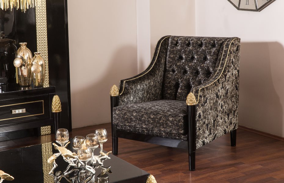 Mina Ricci Luxury Koltuk Takımı 3