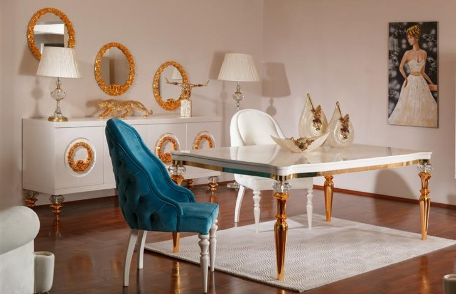 Cristal Luxury Yemek Odası Takımı 3
