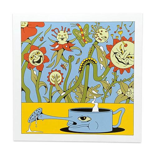 Weeds 30x30 Print