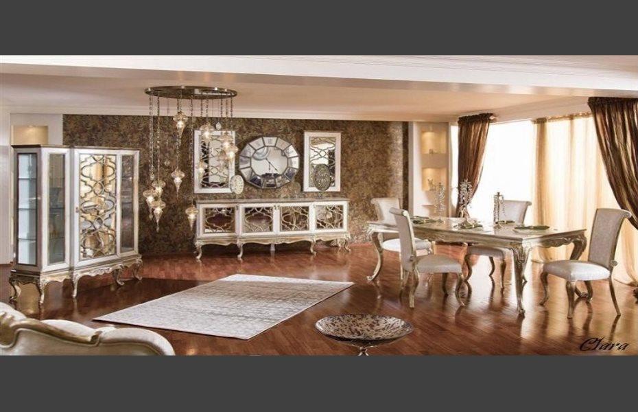 Clara Klasik Yemek Odası Takımı 1