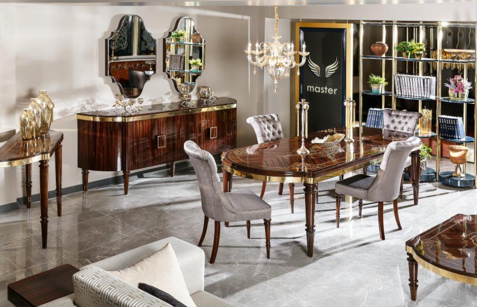 Diplomat Luxury Yemek Odası Takımı 2