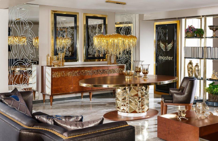 Premier Luxury Yemek Odası Takımı 1