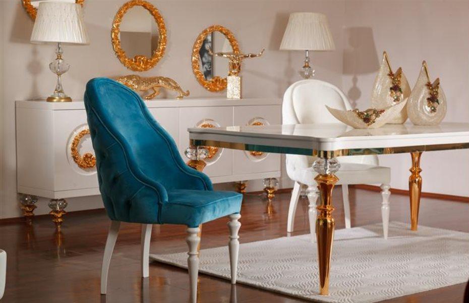 Cristal Luxury Yemek Odası Takımı 1
