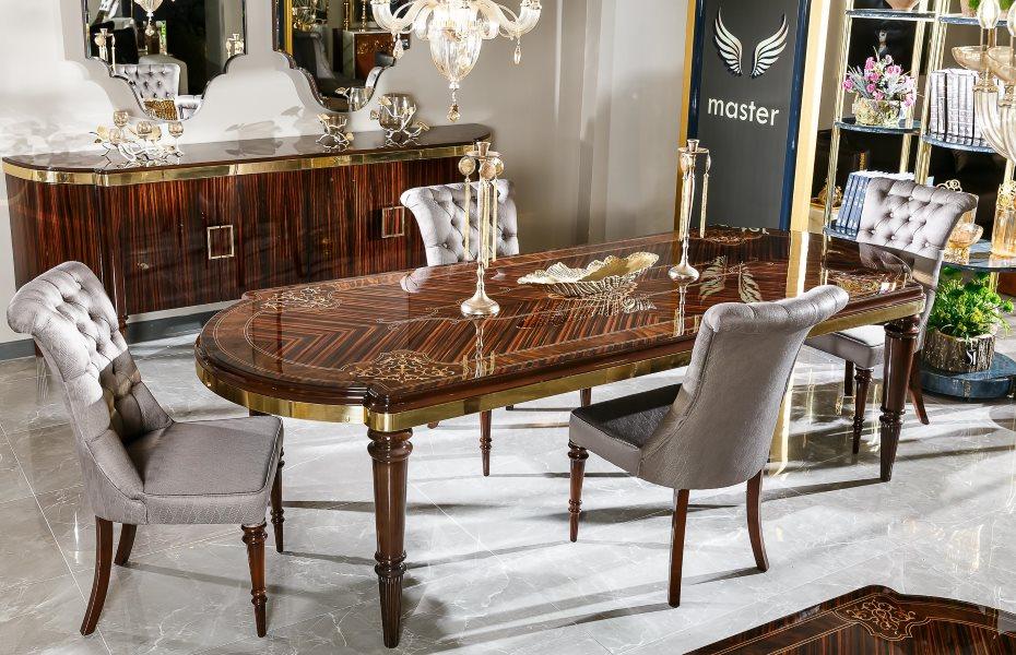 Diplomat Luxury Yemek Odası Takımı 1