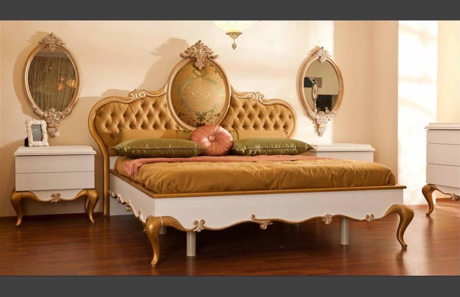 Babür Klasik Yatak Odası Takımı 5