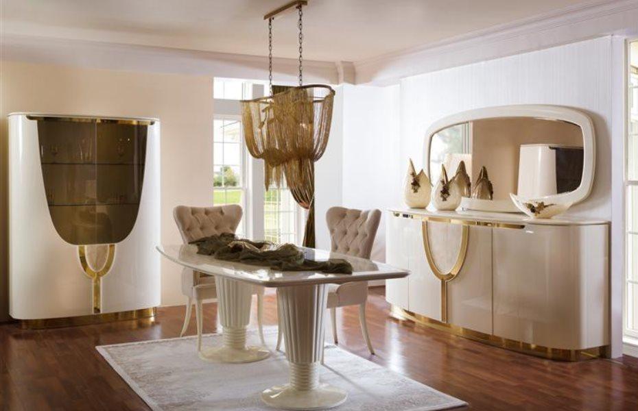 Violet Luxury Yemek Odası Takımı 1