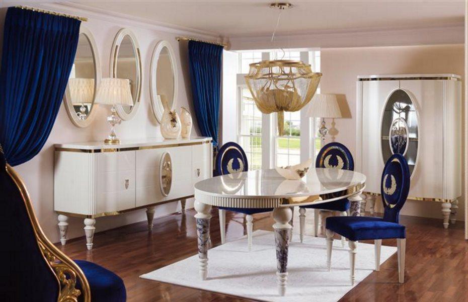 Noble Luxury Yemek Odası Takımı 4