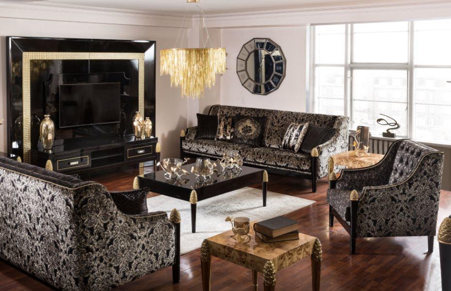 Mina Ricci Luxury Koltuk Takımı 1