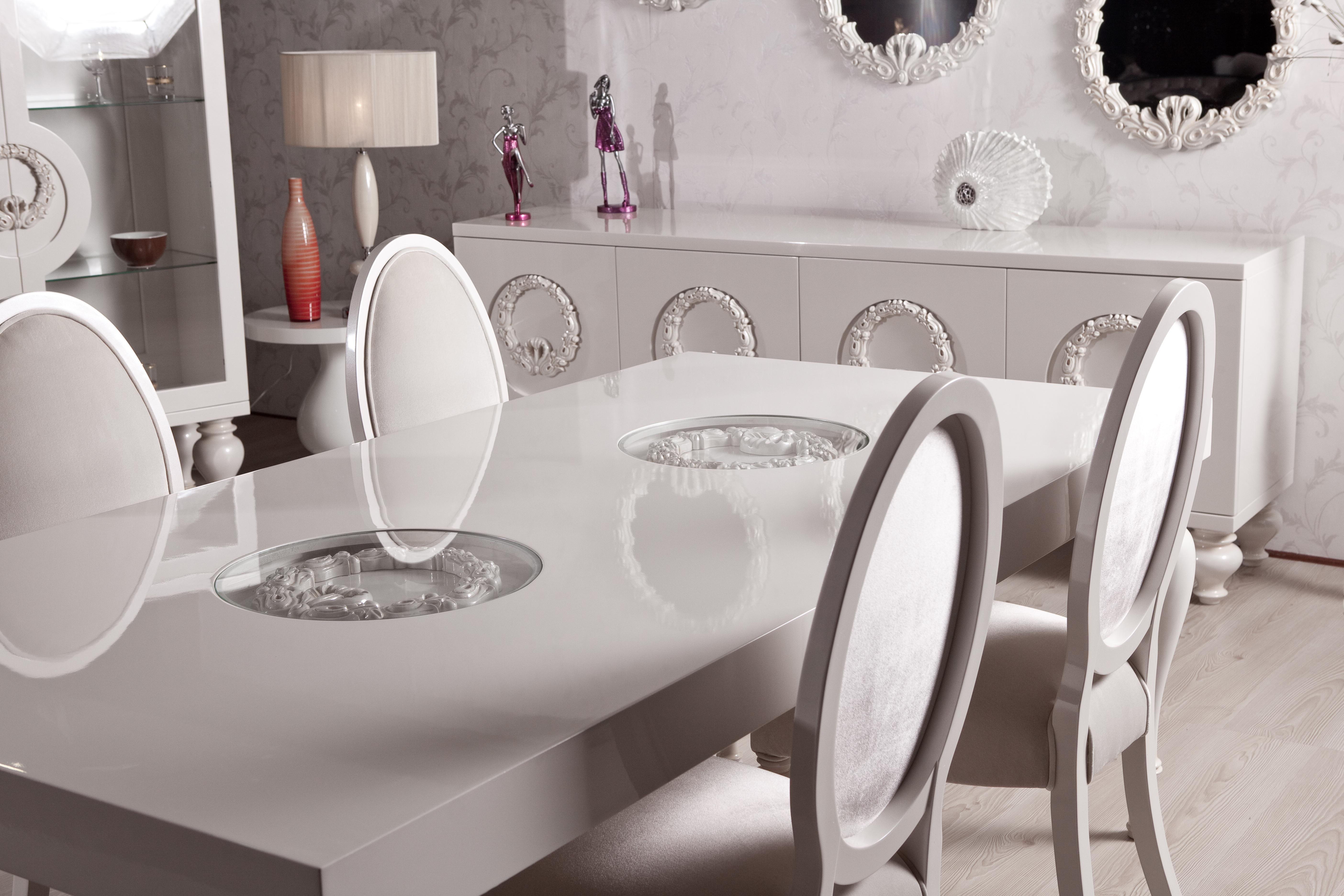 Corona Klasik Yemek Odası Takımı 6