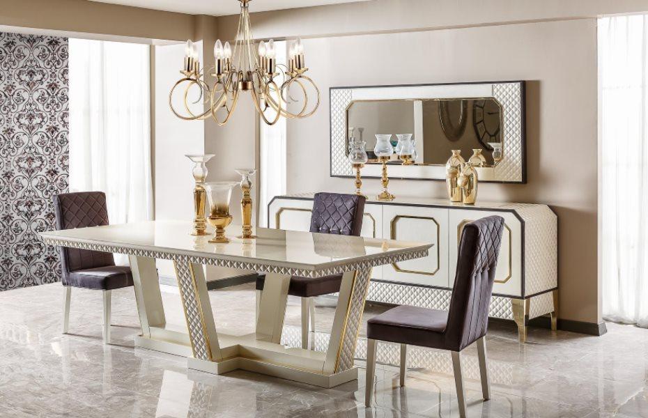Prestije Luxury Yemek Odası Takımı 1