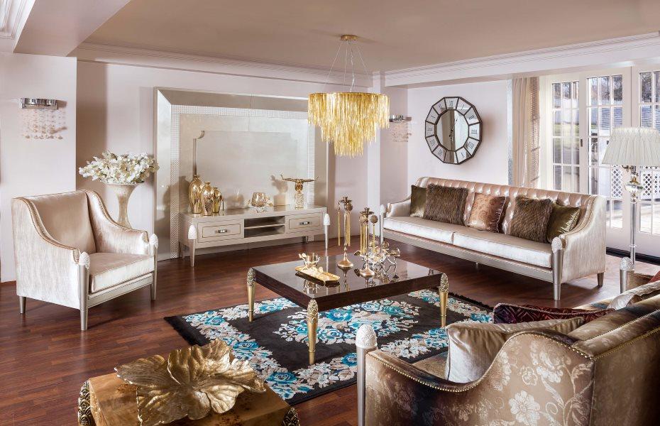 Mina Ricci Luxury Koltuk Takımı 6
