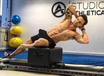 Why the Guys are Joining the Ladies and Incorporating Pilates Reformer into their Workout Regime.